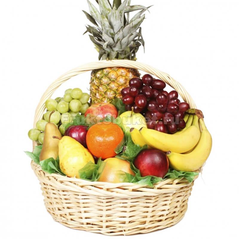 корзинка с фруктами картинки