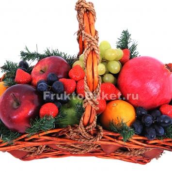 Корзина с фруктами доставка