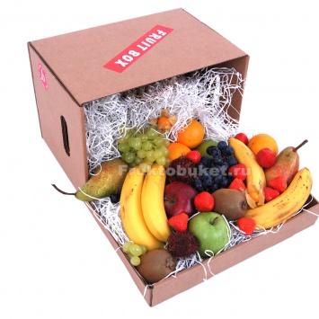 фруктовая коробка с фруктами по спб
