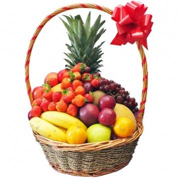 """Корзина с фруктами """"Тропический остров"""""""