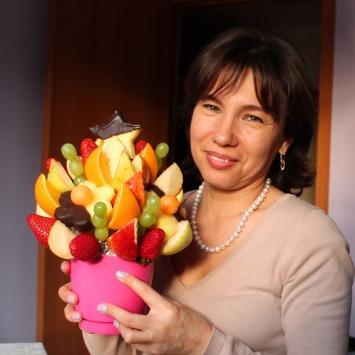 """Букет из фруктов """"Вкусняшка"""""""