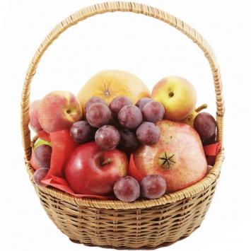"""Корзина с фруктами """"Летний тандем"""""""