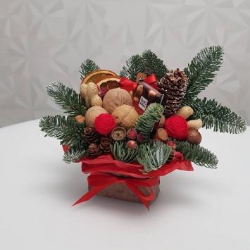 Рождественский подарок конвертик купить