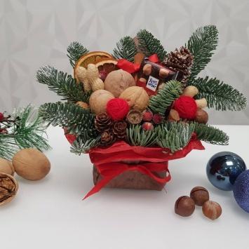 Рождественский подарок конвертик