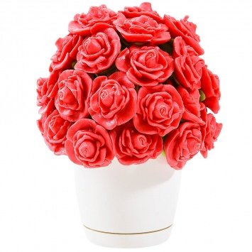 Букет в виде Марципановых роз
