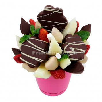 Фруктовый шоколадный букет