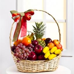 """Фруктовая корзина с фруктами """"Спасибо"""""""