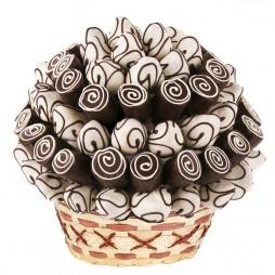 Букет из пирожных из шоколада