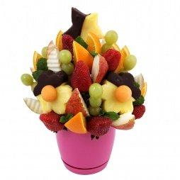 Фруктовый букет заказать в спб цветы горшечные купить оптом цены