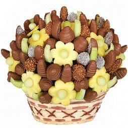 Шоколадный фруктовый букет