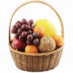 """Корзина с фруктами """"Кокосовый бриз"""""""