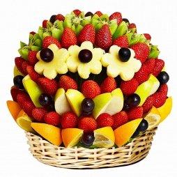 Оригинальный букет из фруктов
