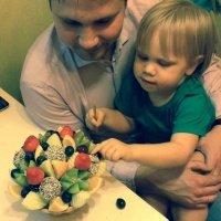 ассорти из фруктов для детей