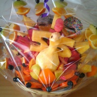 Малый фруктовый павлин в подарок
